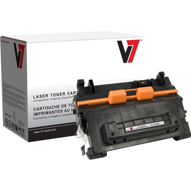V7 Black Toner Cartridge For HP LaserJet P4014, P4014DN, P4014N, P4015, P4015DN V764A
