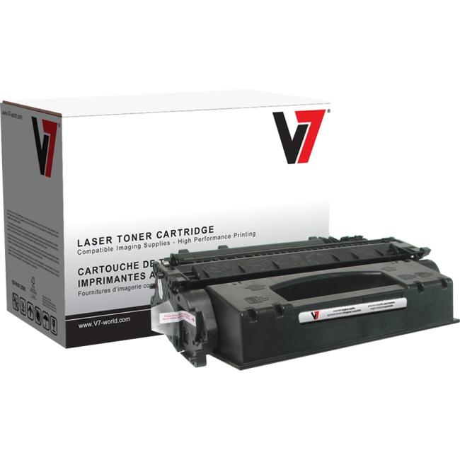 V7 Black Toner Cartridge (High Yield) For HP LaserJet P2055, P2055D, P2055DN, P2 V705X