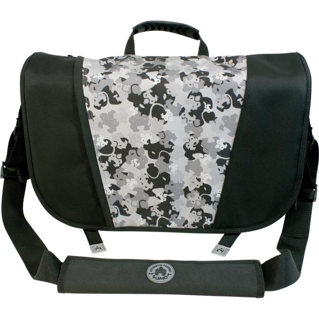 SUMO Messenger Bag - Black / Silver ME-SUMO33MB1