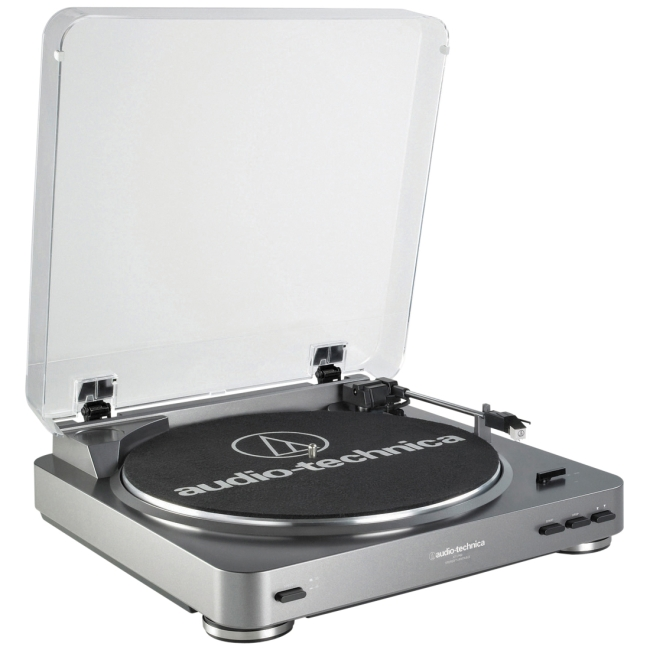 Audio-Technica LP-to-Digital Record/CD Turntable AT-LP60-USB