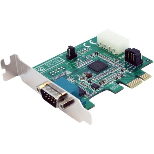 StarTech.com 1 Port Low Profile Native PCI Express Serial Card w/ 16950 PEX1S952LP