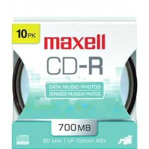 Maxell 48x CD-R Media 648450