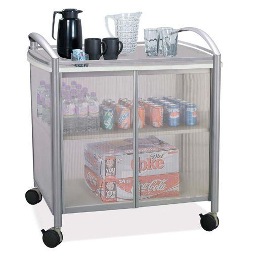Safco Impromptu Refreshment Cart 8966GR SAF8966GR