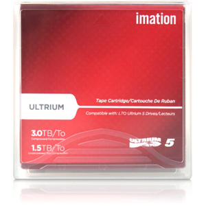 Imation LTO Ultrium 5 Data Cartridge Labeled with Case 27732