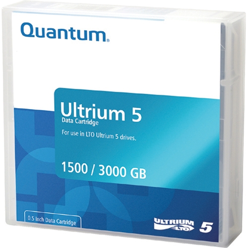 Quantum LTO Ultrium 5 Data Cartridge MR-L5MQN-01-10PK
