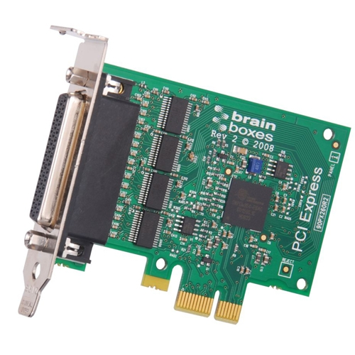 Brainboxes 4-port Multiport Serial Adapter PX-260