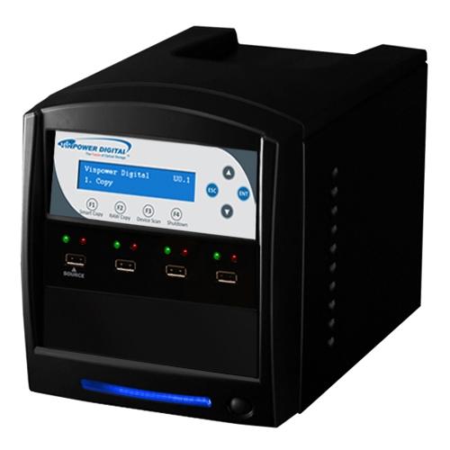 Vinpower Digital 1:3 USBShark Flash Memory Duplicator USBShark-3T-BK