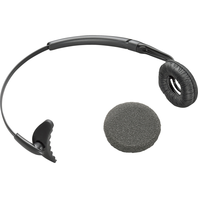 Plantronics Uniband Headband with Leatherette Ear Cushion For Wireless Headsets 66735-01