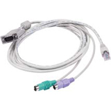 Raritan Cat.5 KVM MCUTP Cable Adapter MCUTP60-PS2