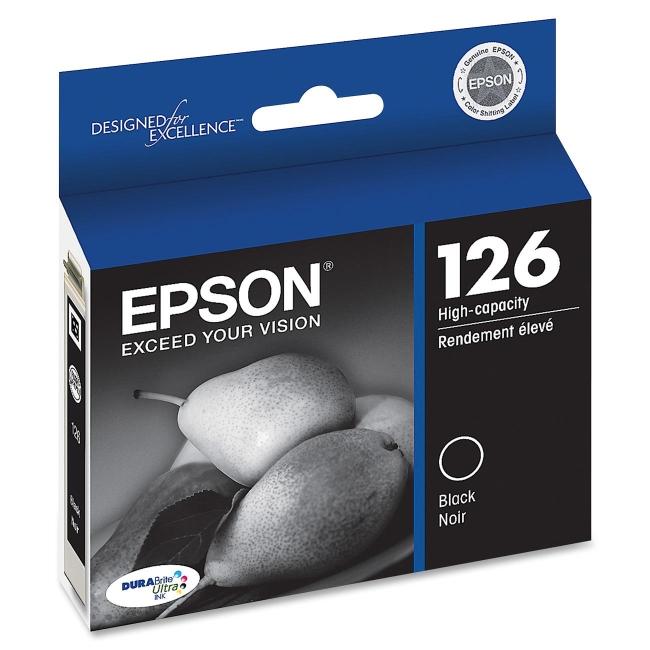 Epson DURABrite High Capacity Ink Cartridge T126120 126