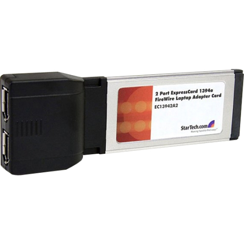 StarTech.com 2 Port ExpressCard 1394a FireWire Adapter Card EC13942A2