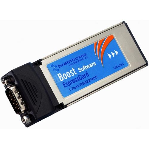 Brainboxes 1-port ExpressCard Serial Adapter VX-023