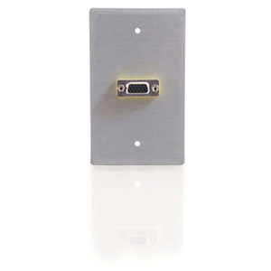 C2G 1 Gang 1 Socket Video Faceplate 40542
