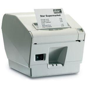 Star Micronics TSP700II POS Thermal Label Printer 37999990 TSP743IIPU GRY