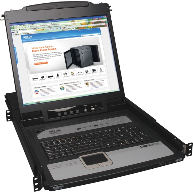 Tripp Lite NetDirector Rackmount LCD with KVM B020-U08-19-IP