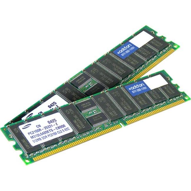 AddOn FACTORY ORIGINAL 4GB DDR3-1333MHz LP REG ECC DR 49Y1435-AM