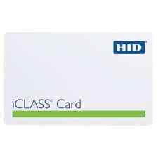 HID iCLASS PVC Card 2000PGGMN 2000
