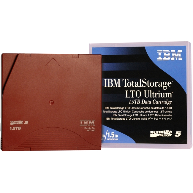 IBM LTO Ultrium 5 Data Cartridge 46X1290