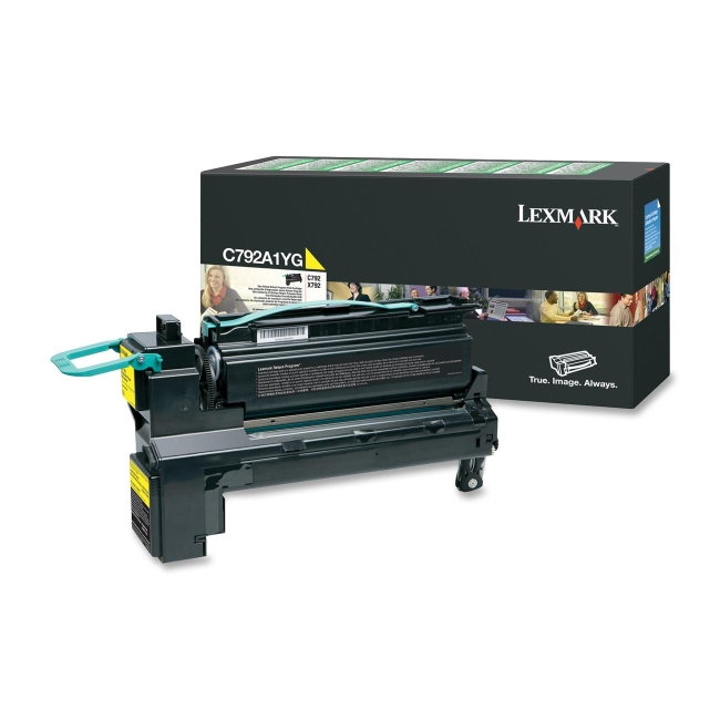 Lexmark Return Program Toner Cartridge C792A1YG