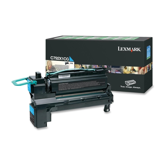 Lexmark High Yield Return Program Toner Cartridge C792X1CG