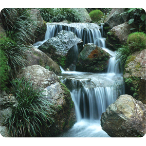 Fellowes Earth Waterfall Mouse Pad 5909701