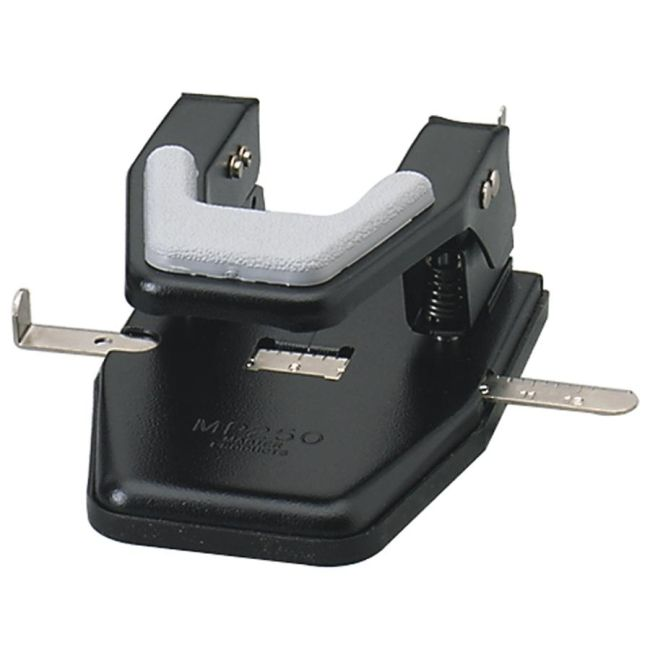 Martin Yale Industries Master Two-Hole Padded Punch MP250 MATMP250