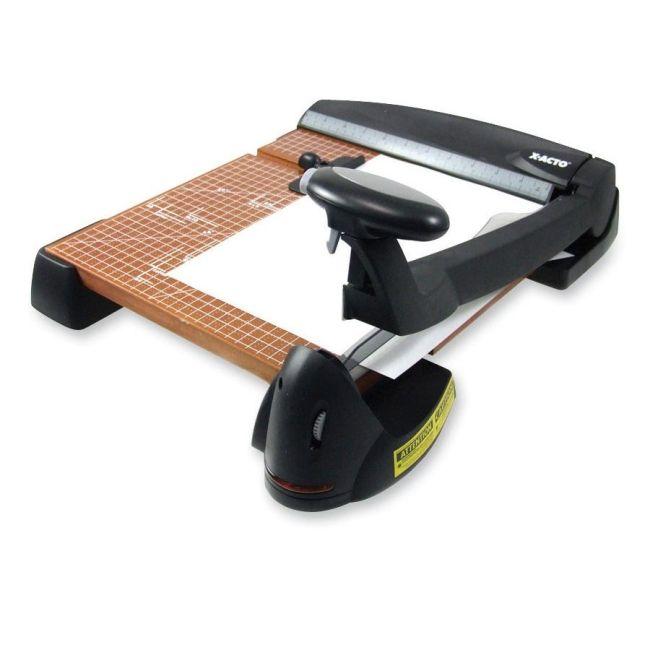 """Elmer's 12"""" Wood Base Laser Guide Trimmer 26642 EPI26642"""