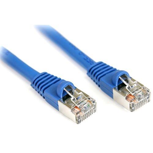 StarTech.com 7 ft Blue Shielded Snagless Cat5e Patch Cable S45PATCH7BL