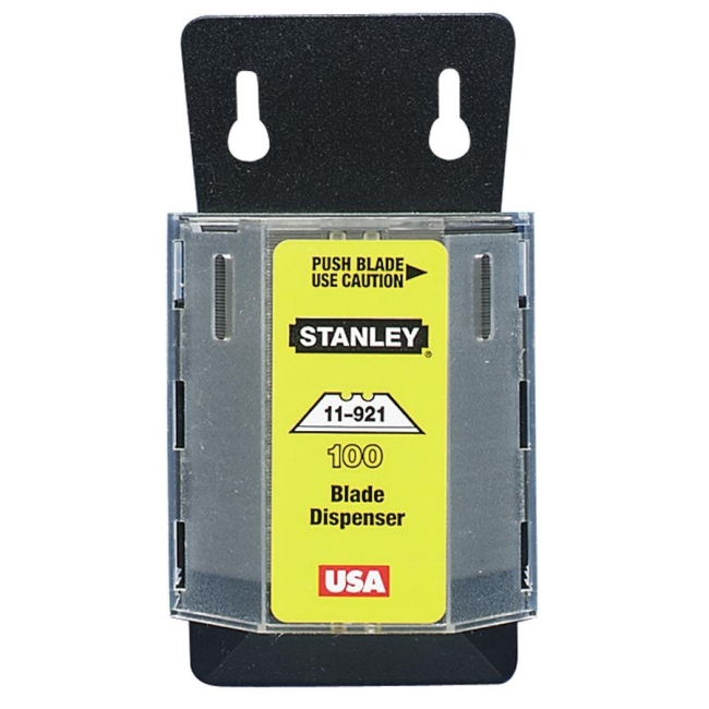 The Stanley Work 100 Heavy Duty Utility Blades 11-921A BOS11921A