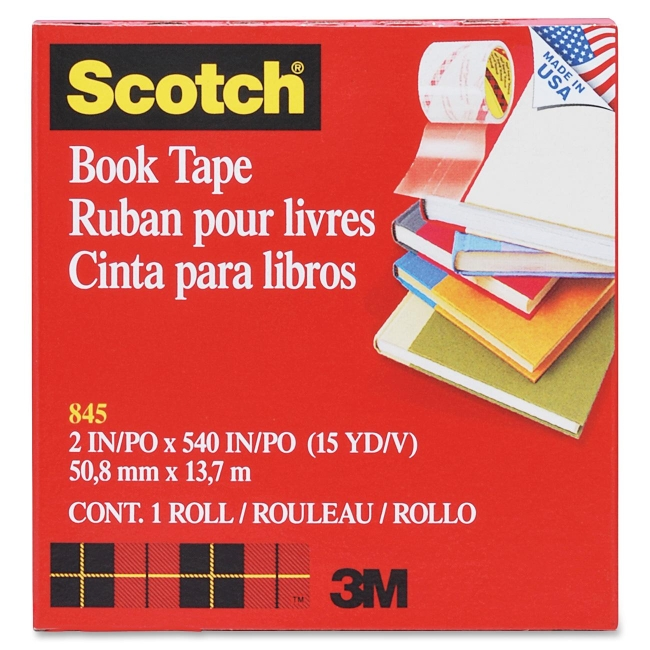 3M Transparent Tape 845-2 MMM8452 8452