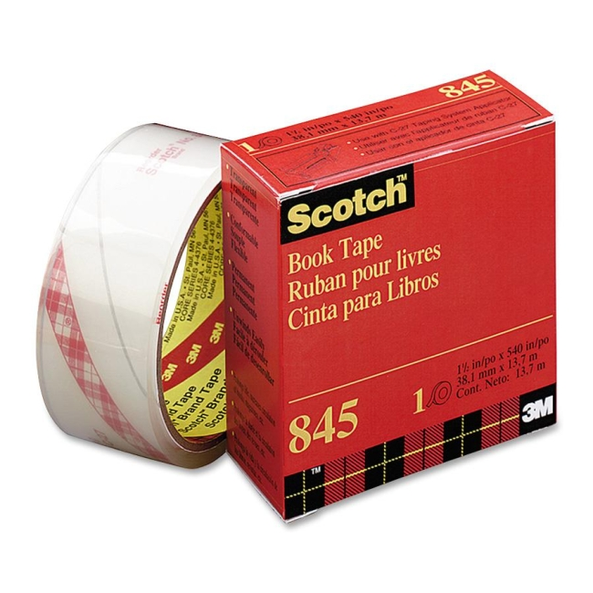 3M Transparent Tape 845-3 MMM8453 8453