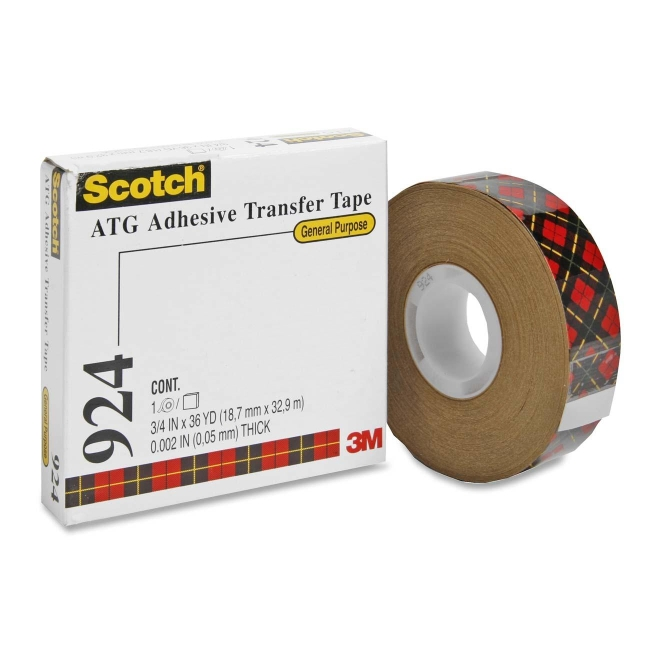 3M ATG General Purpose Adhesive Transfer Tape 924-3/4 MMM92434 92434
