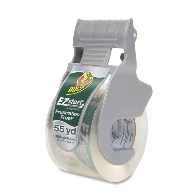 Duck Duck EZ Start Packaging Tape with Dispenser 1259457 DUC1259457