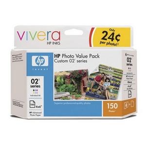 HP 02 Series Photo Value Pack Q7964AN#140