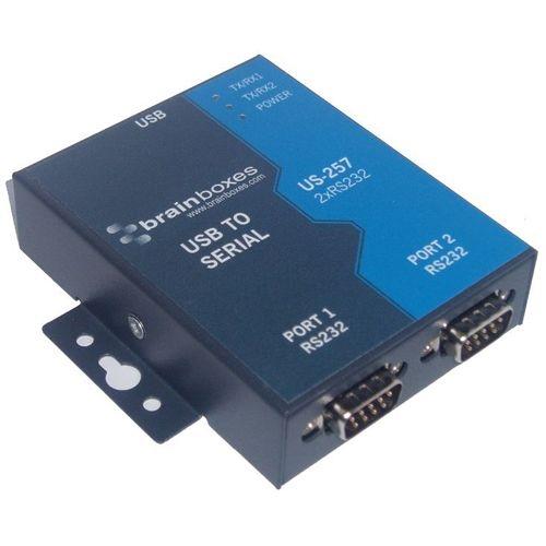 Brainboxes 2-port Serial Hub US-257