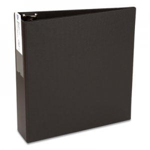 "Avery Economy Non-View Binder with Round Rings, 11 x 8 1/2, 3"" Capacity, Black AVE04601 04601"