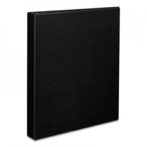 "Avery Durable Non-View Binder with DuraHinge and EZD Rings, 3 Rings, 1"" Capacity, 11 x 8.5, Black AVE07301"