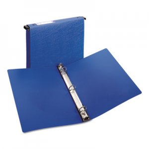 "Avery Hanging Storage Flexible Non-View Binder with Round Rings, 3 Rings, 1"" Capacity, 11 x 8.5, Blue AVE14800"