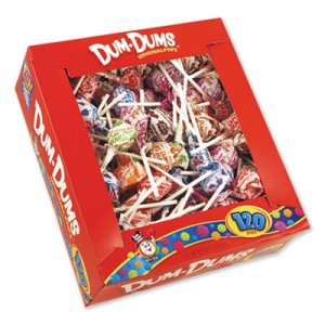 Spangler Dum-Dum-Pops, Assorted Flavors, Individually Wrapped, 120/Box SPA66 66