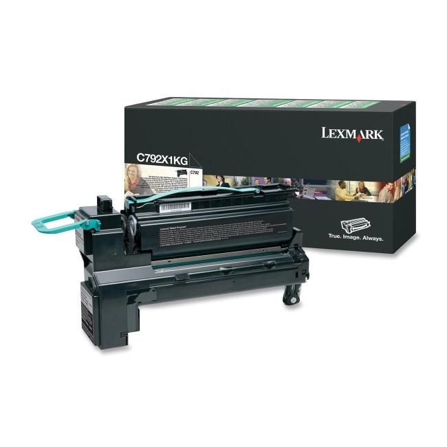 Lexmark Extra High Yield Return Program Toner Cartridge C792X1KG