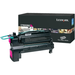 Lexmark Extra High Yield Toner Cartridge C792X2MG