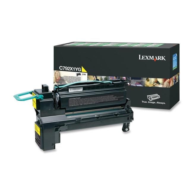Lexmark Extra High Yield Return Program Toner Cartridge C792X1YG
