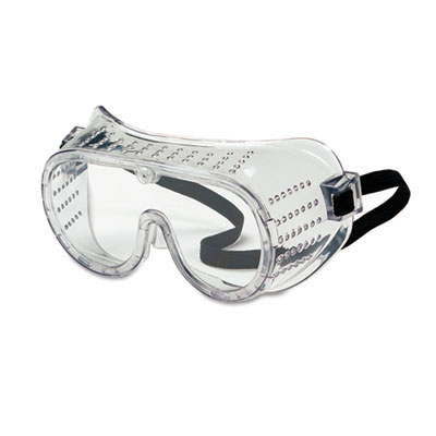 Crews Safety Goggles, Over Glasses, Clear Lens 2220 CRW2220