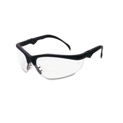 Crews Klondike Magnifier Glasses, 1.5 Magnifier, Clear Lens K3H15 CRWK3H15