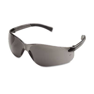 Crews BearKat Safety Glasses, Wraparound, Gray Lens BK112 CRWBK112