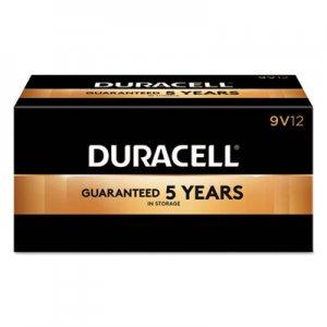 Duracell CopperTop Alkaline Batteries, 9V, 12/BX DURMN1604BKD MN1604BKD