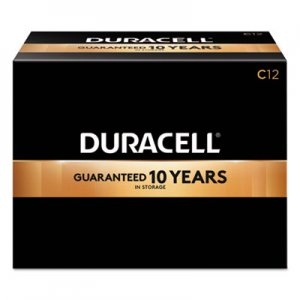 Duracell CopperTop Alkaline Batteries, C, 72/CT DURMN1400 MN1400