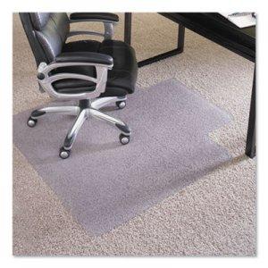 """ES Robbins 45x53 Lip Chair Mat, Performance Series AnchorBar for Carpet up to 1"""" ESR124154 124154"""