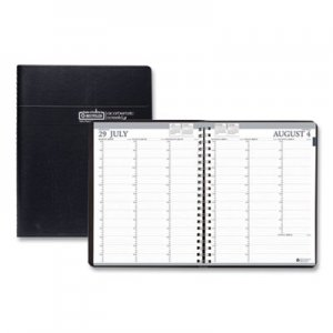 House of Doolittle Recycled Professional Academic Weekly Planner, 8-1/2 x 11, Black, 2018-2019 HOD257202 2572-02