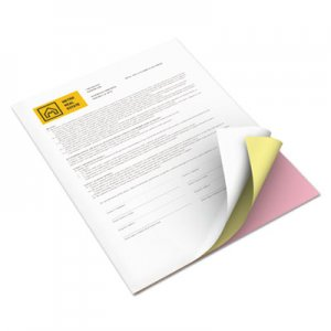 Xerox Revolution Digital Carbonless Paper, 8 1/2 x 11, Wh/Can/Pink, 2505 Sheets/CT XER3R12426 3R12426